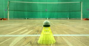 badminton training