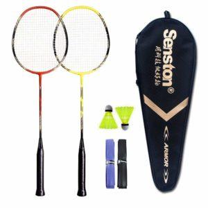 Senston – 2 Player Badminton Racquets Set