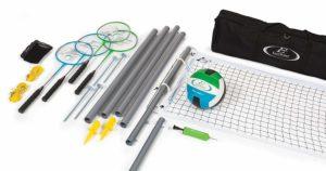 EastPoint Sports Deluxe Volleyball Badminton Net Set