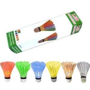 ZHENAN 6 Pack LED Badminton Shuttlecocks