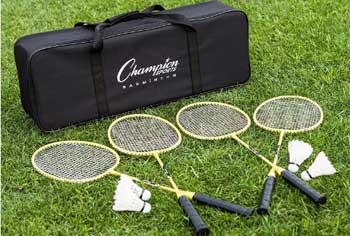 badminton set portable