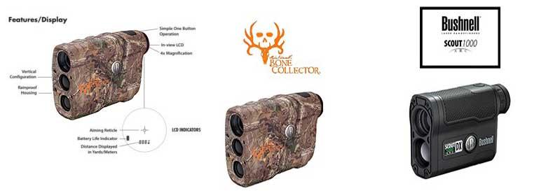 Bushnell 202208 BoneCollector Edition 4x-Laser Rangefinder, RealtreeXtra Camo