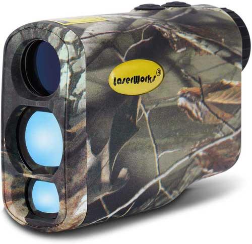 LaserWorks LW1000SPI Laser Rangefinder for Hunting