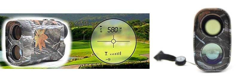 Visionking 6×25 Rangefinder Hunting Golf 600m Camo