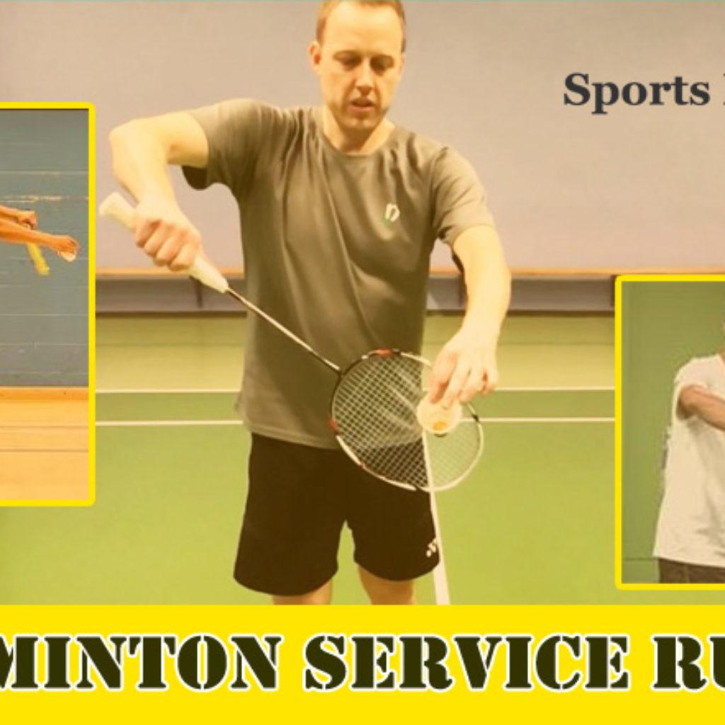 Badminton Service Rules