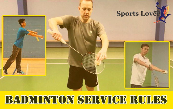 Badminton Service Rules