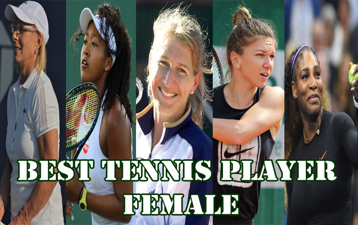 BEST TENNIS PLAYER FEMALE