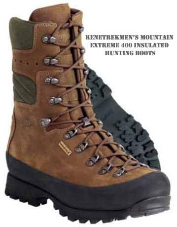 KenetrekMen's Mountain Extreme 400 Insulated Hunting Boots