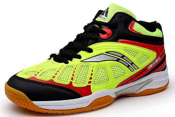 Mishansha Mens Squash Badminton Tennis Shoes