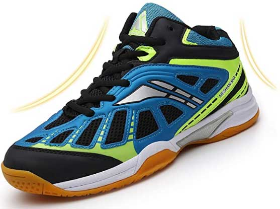 Mishanshamens Athletic Volleyball Badminton Shoes