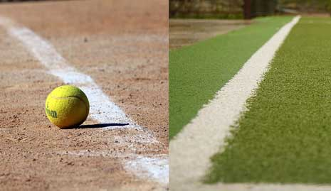 Difference Between Grass And Clay Tennis Courts