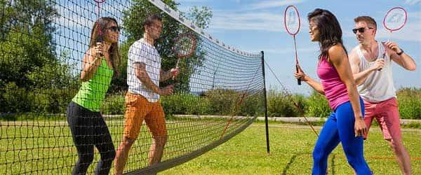 best portable badminton set