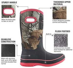 best womens insulated hunting boots